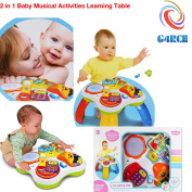 G4RCE Baby Toddler Kids Musical Activity Toy Centre Learning Fun Table for Early Education