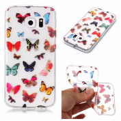 Galaxy S6 Edge Case, Crystal Clear Case for Samsung Galaxy S6 Edge, Silicone Case for Samsung Galaxy S6 Edge, BONROY® Soft TPU Cover Slim Fit Ultra Thin Anti-Scratch Shock Absorption Protective Back Case Cover Shell for Samsung Galaxy S6 Edge, Flexible ..