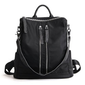 Meoaeo The New Leather Bag Waterproof Cloth Layer Of Leather Oxford Tide Personality