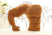 Outflower Funny Muscle Man Big Size Plush Pillow Staffed Plush Cushion for Girls Creative Gift