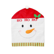 DaoRier Christmas Highchair Covers Soft Material Christmas Decoration