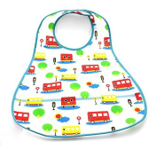 Arpoador 1X EVA Plastic Infant Bib Baby Pinny Boy Girl Waterproof 0-6 years Feeding Care