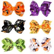 Miaoo 6PCS Baby Halloween Headwear Hair Clips Girls Infant Hair Accessories