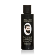 Benjamin Bernard's Caffeine & Biotin Shampoo for Men; Strengthens Hair Follicles and Stimulates Hair Growth, Paraben & Sulphate-Free – 150ml