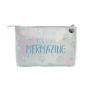 Mermaid Treasures Wash Bag / Travel Bag / Cosmetic Make Up Case