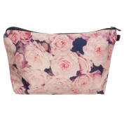 Make up Bag,Cheap4uk Personalised Small Cosmetic bag Wash Bag for Girls or Women