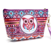 Make up Box, ADE SHOP Makeup Box pro lockable Make up Storage with Owl pattern A002