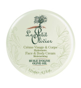Le Petit Olivier Ultra-Nourishing Face and Body Moisturising Cream with Olive Oil, 125 ml