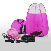 Bare Naked Spray Tan Machine & Pop Up Tent Set - Pink