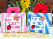 You cross two for cloth picture book MY QUIET BOOK NEW ENGLISH VERSION & blues tripe English embroidery, and choose the gift set preschool education! giftwrapping