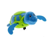 jileSM Wind-up Clockwork Tortoise Swimming Pool Bath Toy