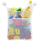DROVE Baby Bathtub Bathroom Toy Mesh Net Storage Bag Organiser Holder Suction Cup Bag