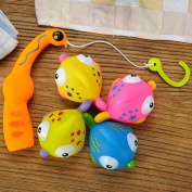 Baby Bathing Toys Float Fishing Soft Glue Suitable for Boys and Girls
