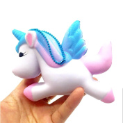JoyJay 1 PC Soft Squishy Toy Exquisite Fun Cute Unicorn Scented Squishy Charm Slow Rising Simulation Toy 11cm