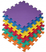 45 Piece Interlocking EVA Foam Activity Play Kids Baby Soft Mat Tiles Set
