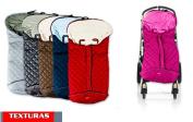 Textures Home Sleeping Bag – Universal Chair Indoor Coralina Grey Cheque Waterproof 9648 + Gift Pen Exclusive