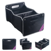 NWYJR Car Organiser Nylon Shopping Tidy Heavy Duty Collapsible Foldable Storage Car, SUV, Minivan, Truck Indoor and etc