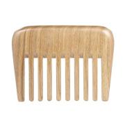 Anself Pocket Wood Comb Hair Anti-static Comb Hairdressing Wood Comb Salon Wooden Comb Sandalwood Wide Teeth Massage