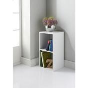 PAJEE™ Lokken Stylish 2 Cube Unit White