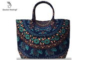 Hippie Elephant Tapestry Cotton Indian Mandala Designer Bags For Women Handmade Boho Hobo Tote Bags Cross Body Hand Shoulder Bags