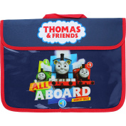 Boy's Thomas The Tank & Friends School Document Book Satchel Bag