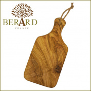 Tableware plate Wood plate tray cafe rectangle made of BERARD (Berard) olive Wood cutting board big tree