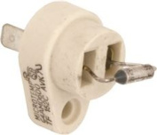 FACE PLATE FUSE LINK, THERMAL CUT-OFF, 300 DEGREES, 22 AMPS, 250 VOLTS