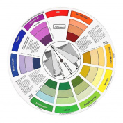 Artists Colour Wheel Mixing Colour Guide 23.5cm Diameter Pocket Artist Colour Wheel -Big Enough Read