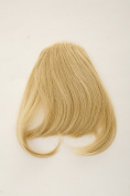 WIG ME UP ® - YZF-W1030-86 Hair Piece Clip-in Bangs Fringe long framing strands for perfect natural fit heat resistant fibre styleable gold blond
