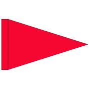 Red Pennant 1.8m Jogging Stroller Safety Flag