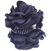 Fashion Lady Girl Rose Flower Hair Clamp Plastic Claw Clip Hair Accessory Gift