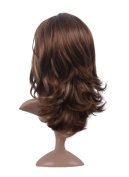 Mermaid 24'' Long Curly Wavy Hair Wigs - Women's Sexy Synthetic Heat Resistant Wig