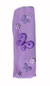 "Baby, Girls Butterfly Bandeau Hairband In Fantastic Colour Mixes With Diamante ""Gems"" For Bling!"