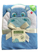 Hooded Towel with Embroidered Name and Date of Birth; 100 x 100 cm very soft/1 A Quality
