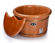 Oak Foot Bath Spa Home Wood Bucket Wood Barrel 0.26m High