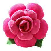 A-goo Soft Lovely Novelty Colorfull Rose Flower Shape Bed Sofa Chair Car Seat Cushion Pillow