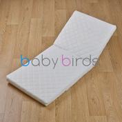 Baby Birds Safety Mattress for Silver Cross Balmoral Coach Built Prams - 84cm X 36cm