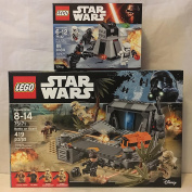 LEGO Star Wars Battle on Scarif & LEGO Star Wars First Order Battle Pack