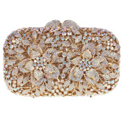 Bonjanvye Floral Evening Bags Prom Party Dress Clutches Bags for Girls