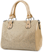 styleBREAKER Bowling Bag handbag with studded rhinestones CA. in Starry Sky Design, Women's 02012021