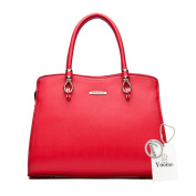 Yoome Top Handle Handbags Large Capacity Casual Bags For Women Crossbody Clutch Bags For Girls - Red