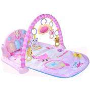 GZQ Kick and Play Piano Gym for Baby Musical Activity Play Mat Newborn Toys with Soft Thickly Padded Mat for Birthday Festival - Enhance Hearing and Creativity
