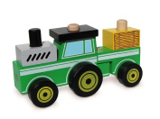 Wonderworld Make A Tractor Construction Vehicle