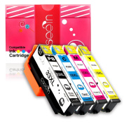 Cseein 4x T3357 33XL Ink Cartridges Compatible for Use with Epson Expression Premium XP-530 XP-540 XP-630 XP-635 XP-640 XP-645 XP-830 XP-900 Printers