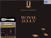 Queen's secret™ 100% Pure and Fresh Royal Jelly 100g + FREE mother of pearl spoon