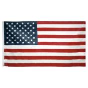 0.9m x 1.5m Poly Cotton American Flag - U.S. Made