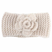 For 0-4 Years Old, Voberry Baby Keep Warm Flower Knitting Infant Kids Girl Hairband Phtography Props Knit Headband Crochet Hairband Headwrap