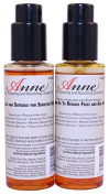 Anne's Hair Oil for strong thick hair for unisex recommended for growth, Thickening and Nourishing Growth Oil for Males, Females and Children TWIN PACK FOR DAY AND NIGHT USE- UK Based