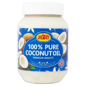 KTC 100% Pure Coconut Oil for Hair,Skincare,Cooking,Oil Pulling 500ml