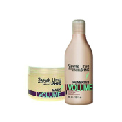PROFESSIONAL REPAIR & SHINE HAIR SHAMPOO & MASK VOLUME with silk protein with silk protein + GIFT